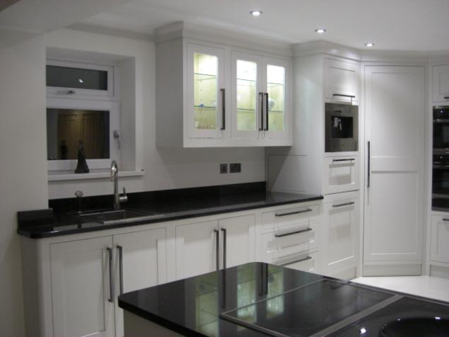 Modern Classic Kitchen In Aberdare Celtica Kitchens