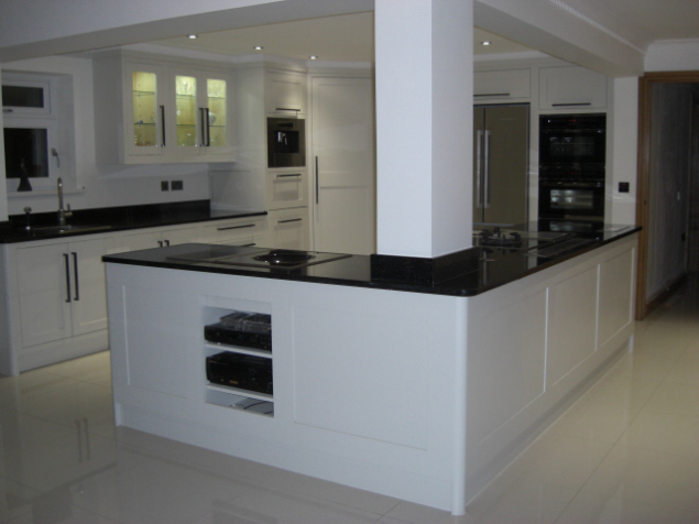 Modern Classic Kitchen In Aberdare Celtica Kitchens