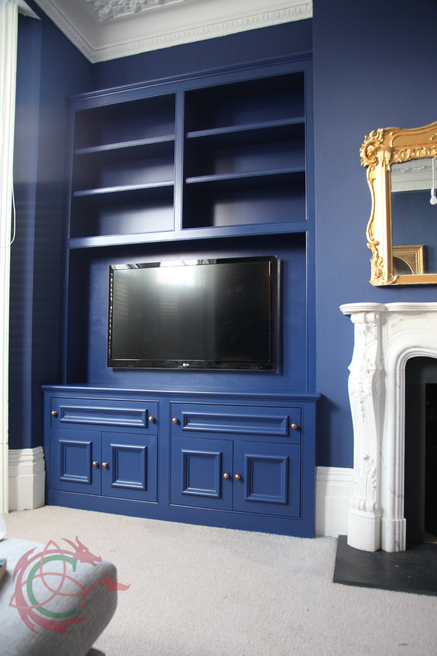 Alcove cabinet with TV, Brighton 7122 - Celtica Kitchens